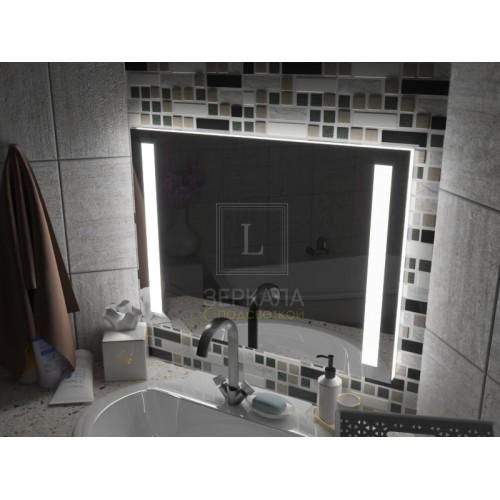 Зеркало с подсветкой для ванной комнаты Мессина
