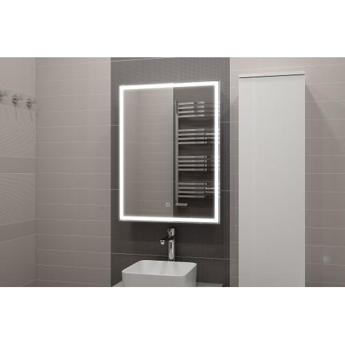 Зеркальный шкаф с подсветкой Алюре