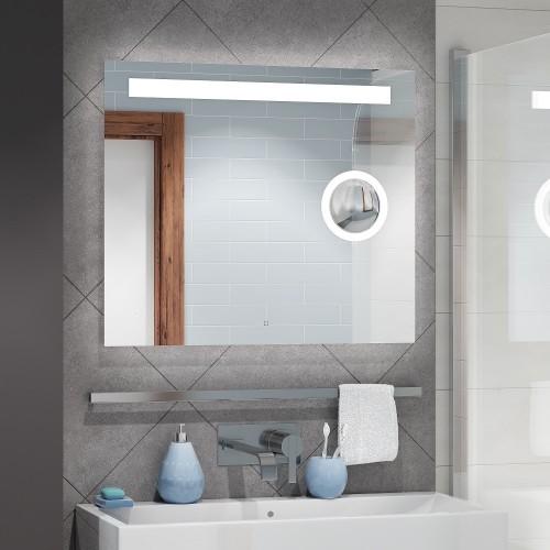 Зеркало с подсветкой для ванной комнаты Эльдорадо