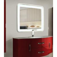 Зеркало в ванную комнату с подсветкой Мила 140-75 см